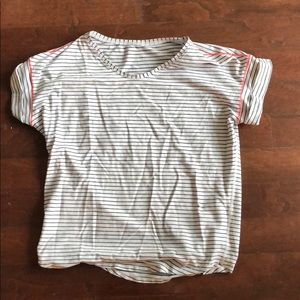 Lululemon Striped T Shirt